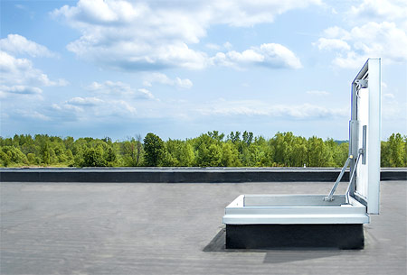 Milcor About & EE Series - Roof Access Hatch | Milcor