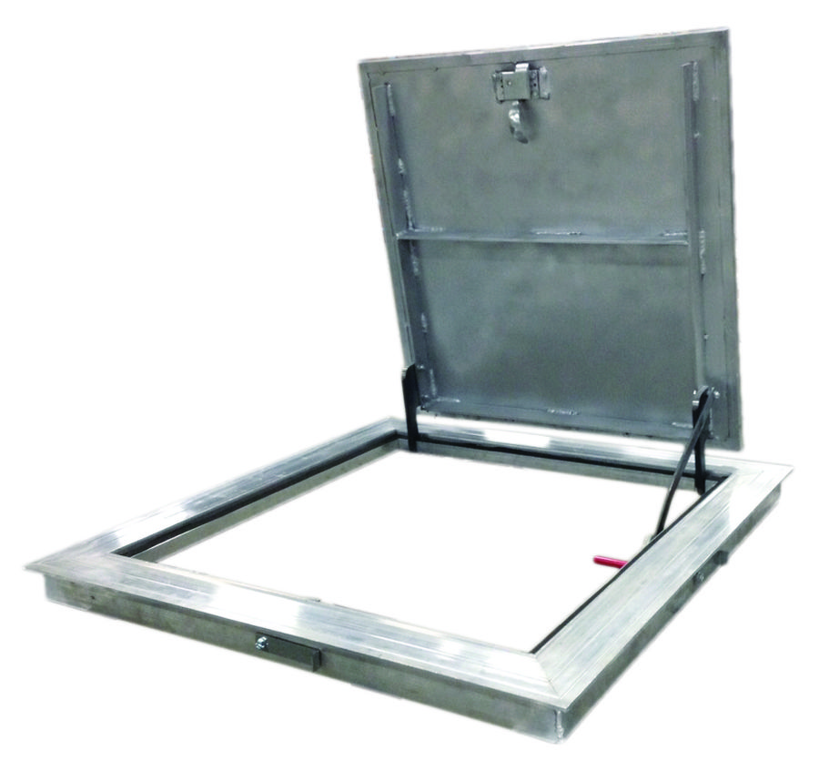 Security: Aluminum Floor Doors
