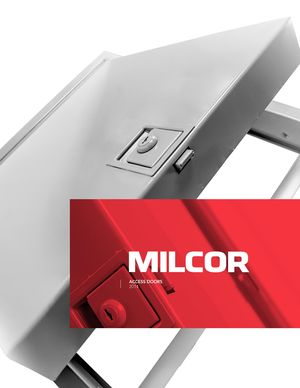 z - Cover Image: Milcor Access Doors