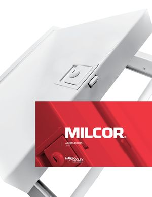 z - Cover Image: Milcor Access Doors (White)