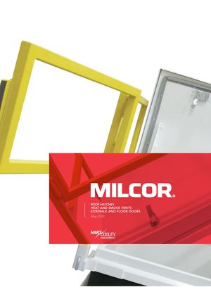 z - Cover Image:  Milcor Roof Hatches 2020